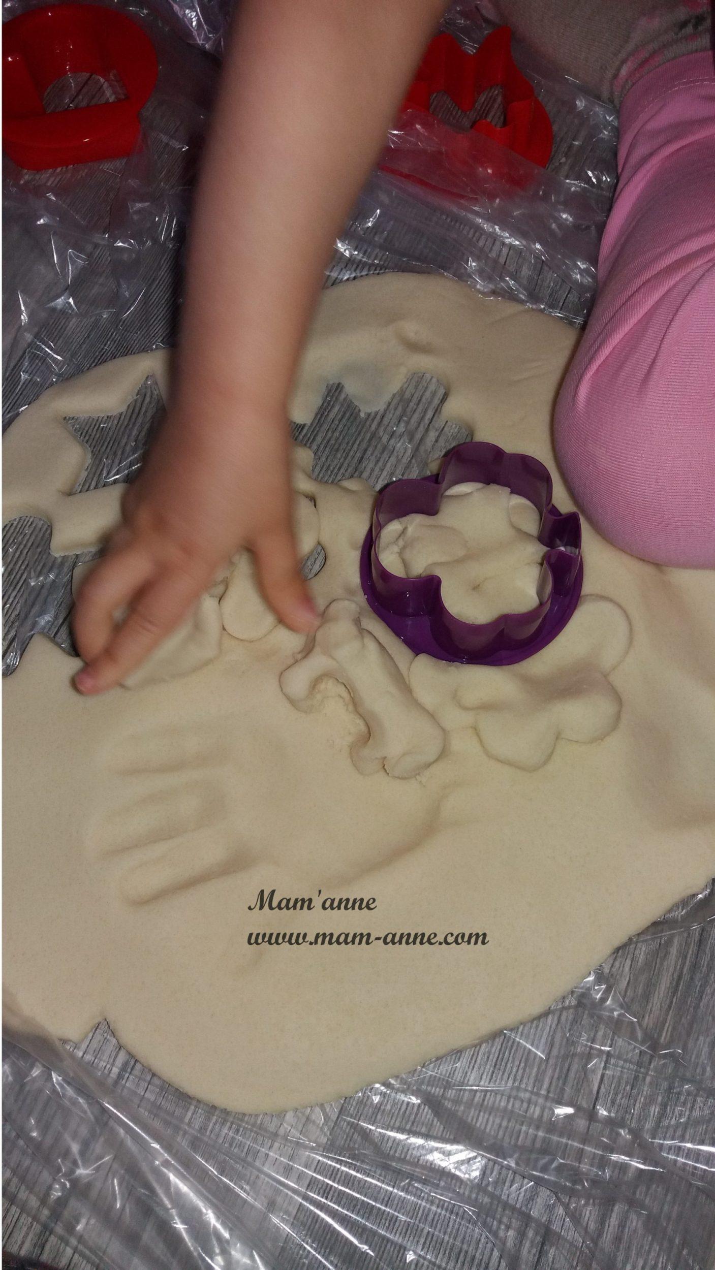 Pâte à modeler sans cuisson pour enfants