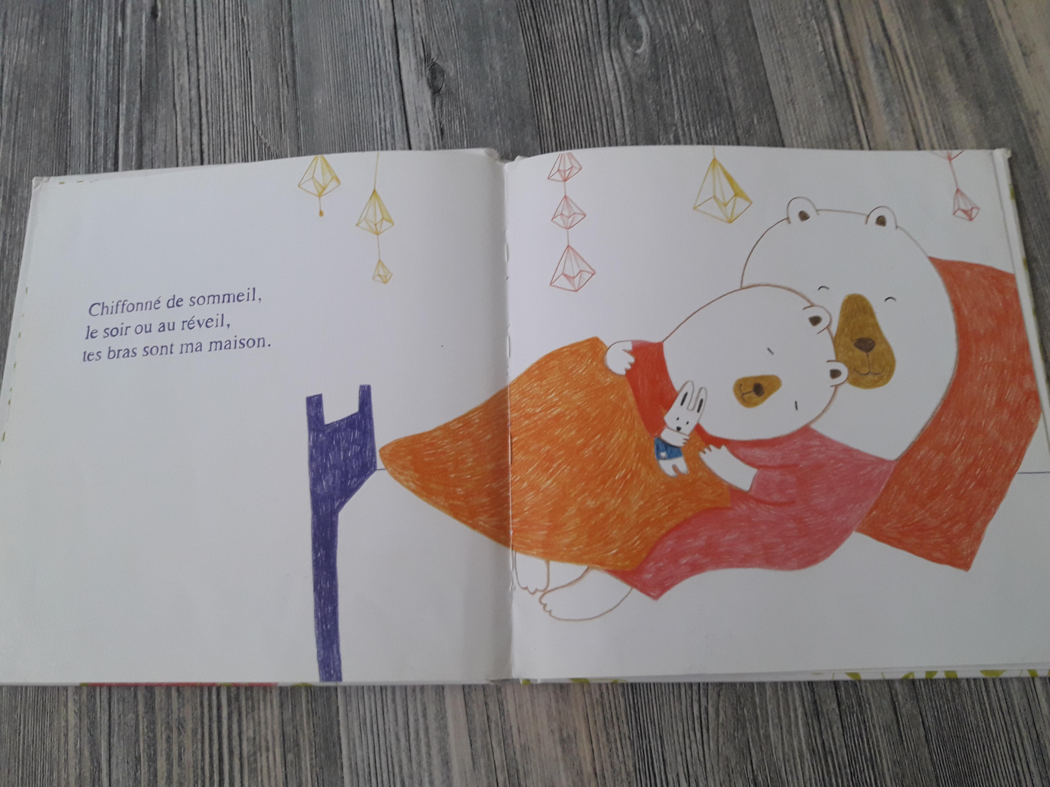 livre emotion pour enfant tes bras sont ma maison