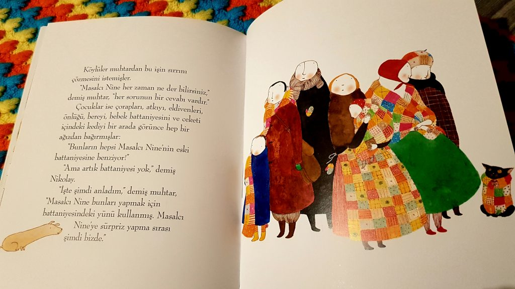 Masal battaniyesi stories blanket ferida wolff